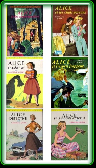 [Pack N2] Caroline Quine - Alice