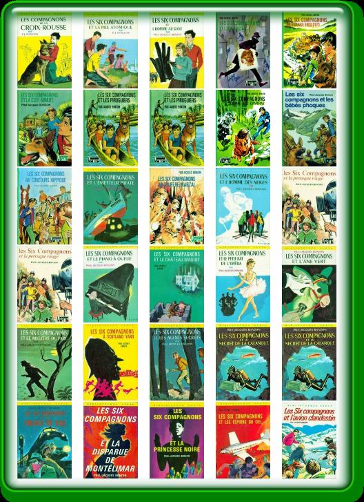 Paul-Jacques Bonzon - Les Six Compagnons (27 livres)