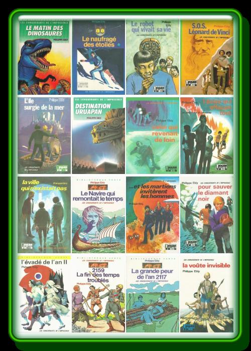 Pack Philippe Ebly - Les conquerants de l'impossible (16 ebooks)
