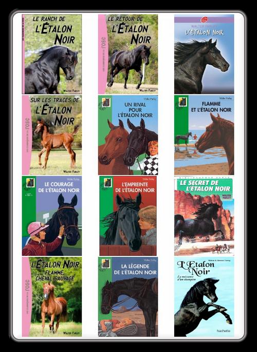 [Pack] Walter Farley - Serie L'Etalon Noir (14 livres)