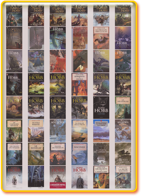 Pack Robin Hobb - Bibliographie complete 54 ebooks