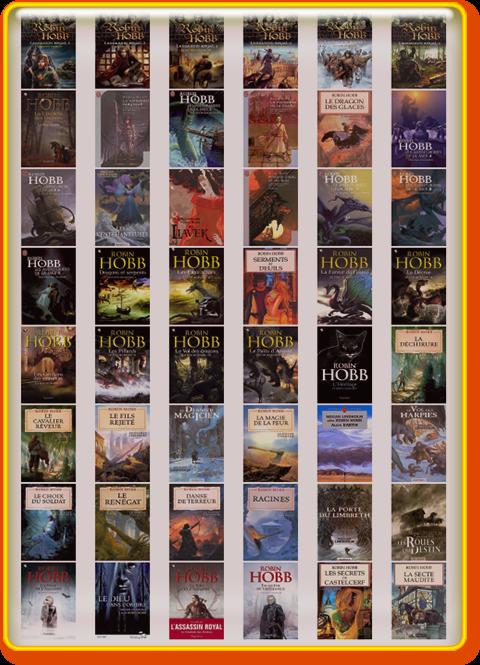 Robin Hobb - Biographie complete (54 ePub)