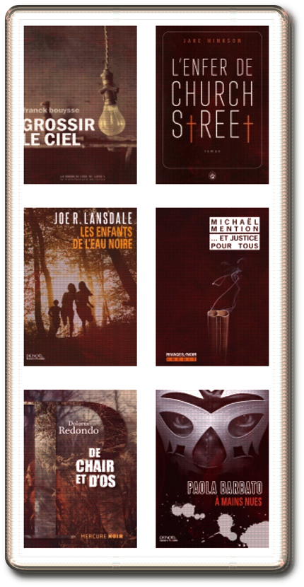 Finalistes Prix Polars Pourpres 2015 (6 ebook)